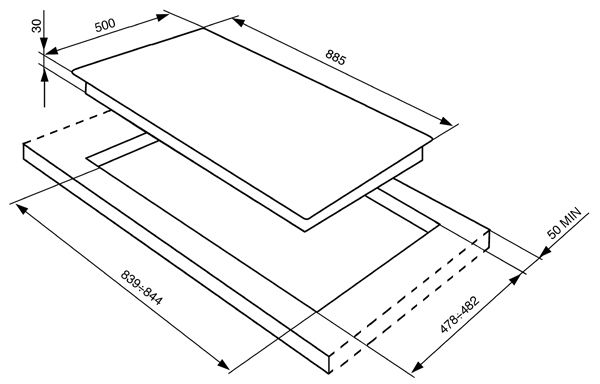 PLACA-INDEPENDI-A-GAS-SMEG-SRV596GH5-90CM-INOX