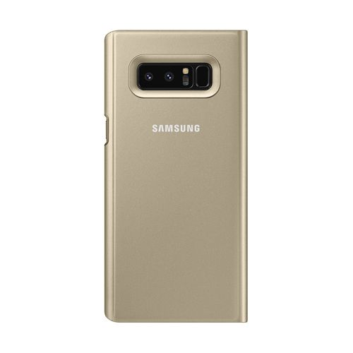BOLSA-SAMSUNG-NOTE8-CLEAR-VIEW-ST-COVER-GOLD