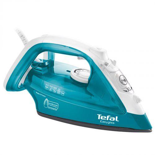 Tefal-FV3925-Seco-y-de-vapor-2300W-Durilium-Turquesa-Color-blanco-plancha