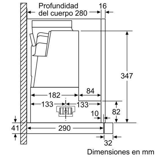 CAMPANA-EXTENSIBLE-BOSCH-DFS067K50-60-CM-700-M3-H