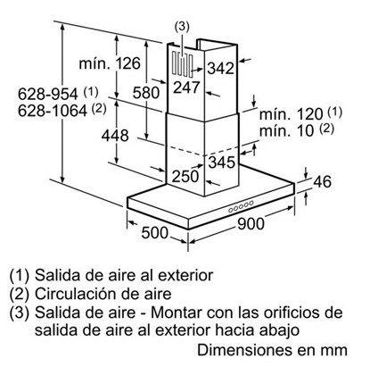 CAMPANA-DECORATIVA-PARED-SIEMENS-LC91BC552-90CM-BOX-SLIM-INOX