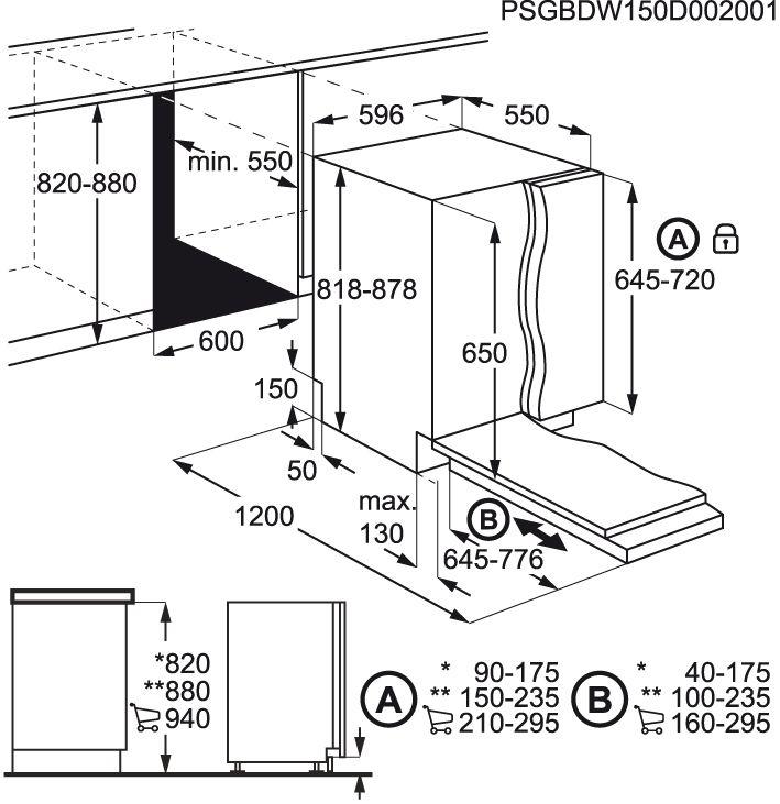 Electrolux-ESL5321LO-Totalmente-integrado-13cubiertos-A-lavavajilla