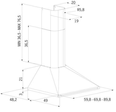 CAMPANA-DECORATIVA-PARED-MEPAMSA-PERLA-H-70-COBRE-V2-70CM-COBRE